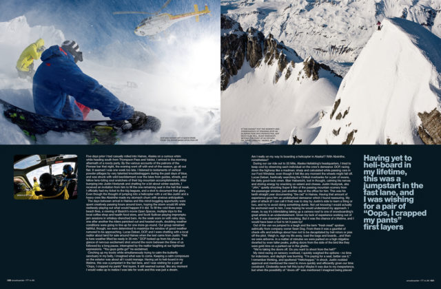 The Doors Come Off : Feature in Snowboarder