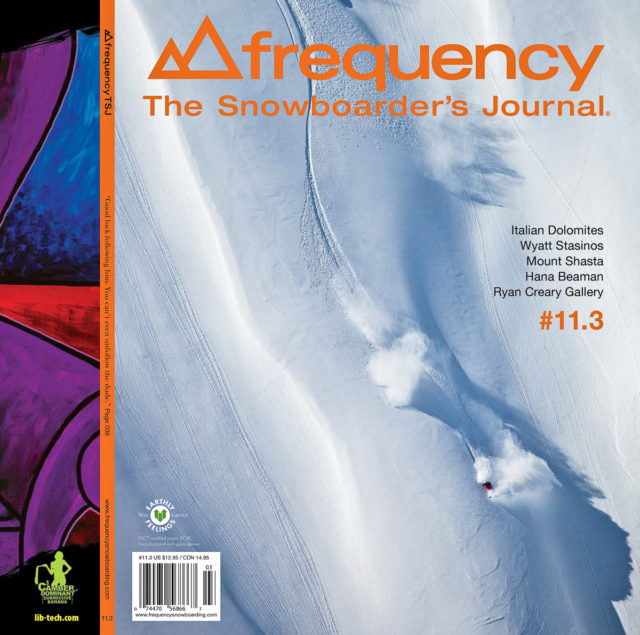 Frequency TSJ magazine cover