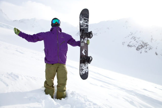Alex Yoder absolutely grateful for the amazing four days of boarding in the mountains of Haines Alaska.