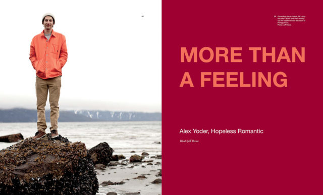 More Than a Feeling. Alex Yoder : Feature in Frequency