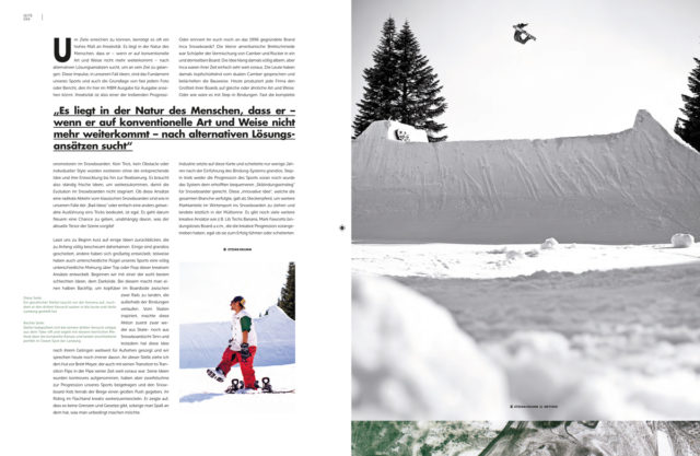 Bad Ideas : Feature in Snowboarder MBM - Germany