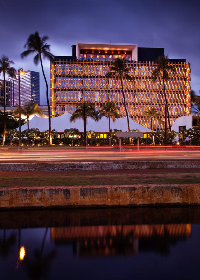 Vladimir Ossipoff. IBM Building. Honolulu.