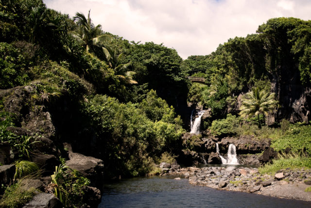 Seven sacred pools of Ohe'a.