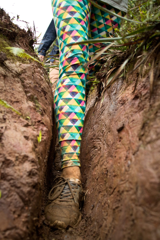 not only muddy, but a technical trail too